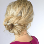 Hair tutorial: Knotted Updo