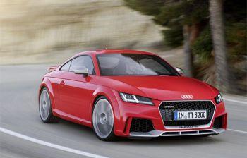 De nieuwe Audi TT RS Coupé en RS Roadster