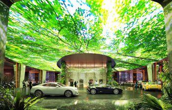 7.000 vierkante meter regenwoud in hotel Dubai