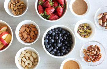 Makkelijke gezonde snack ideeën