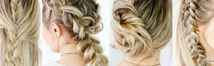 4 easy chic haarstijlen voor Pasen