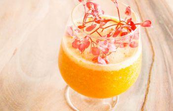 Gezonde en verfrissende lente smoothie