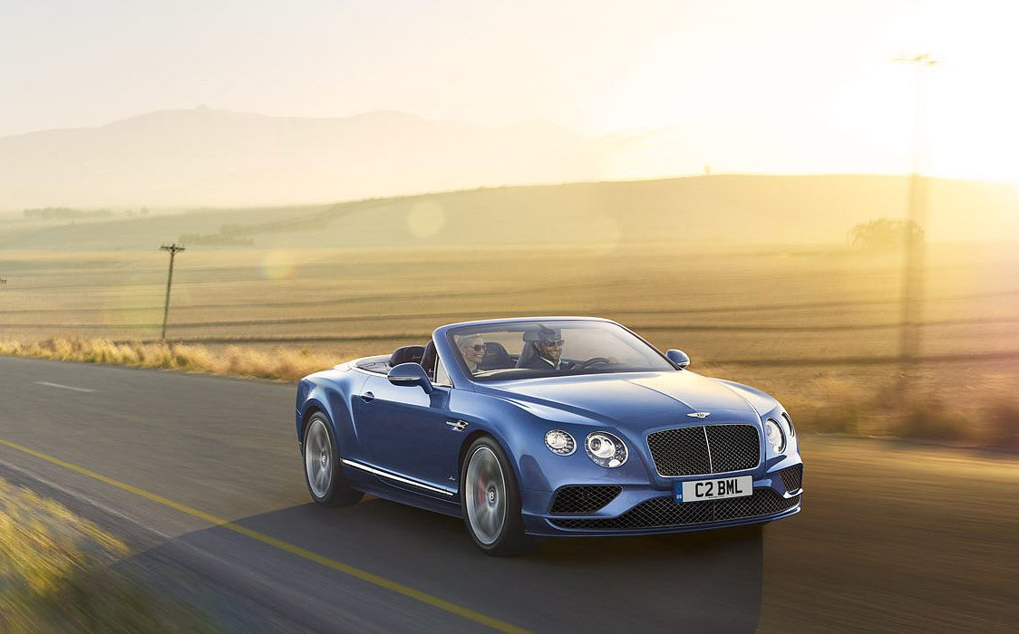What crisis? De Bentley Continental GT Speed Convertible