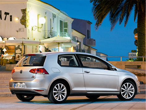 And the winner is…de Volkswagen Golf 7!