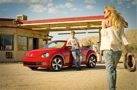 The return of the Volkswagen Beetle Cabrio