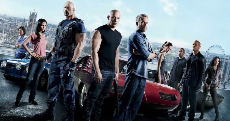 Fast & Furious 6, the movie