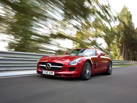 Supersportwagen: Mercedes Benz SLS AMG Coupé