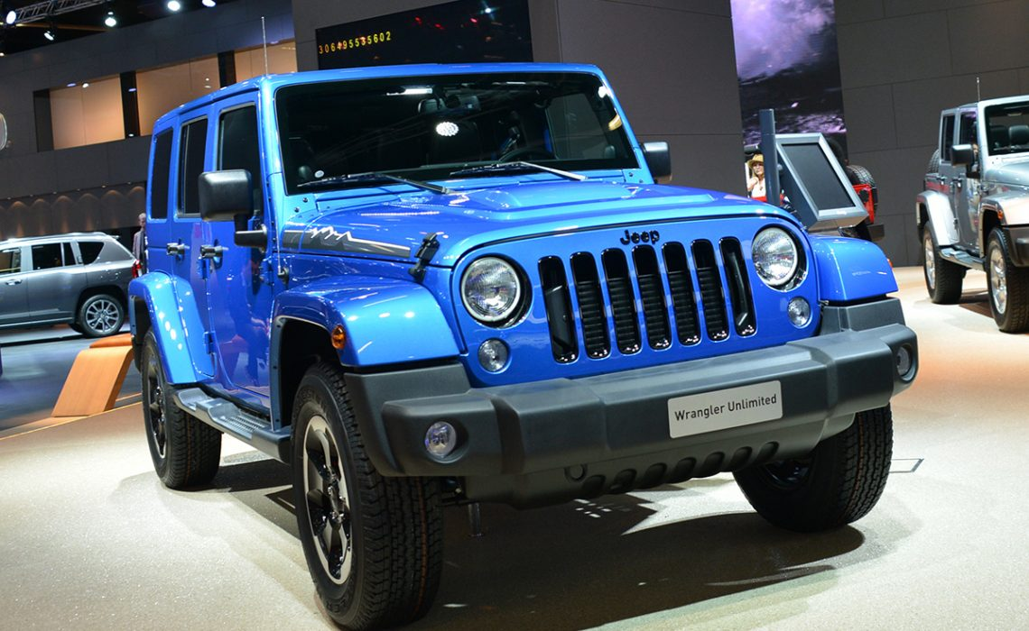 Jeep Wrangler Polar Edition