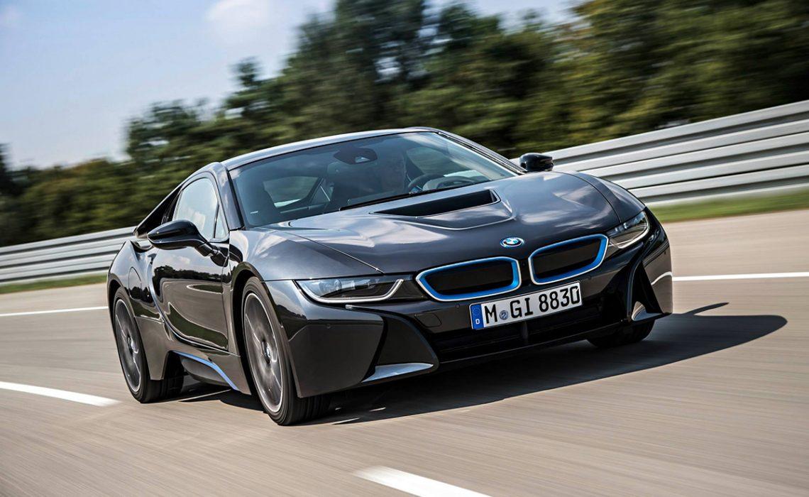 Born electric: BMW i8