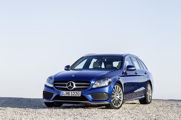 De nieuwe Mercedes C-klasse Estate