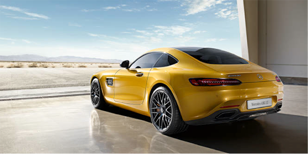 Top of the bill: Mercedes-AMG GT