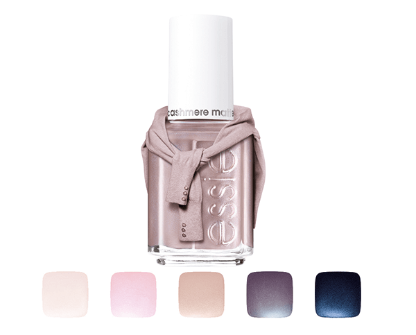 De luxe Essie Cashmere Matte Collection 2015