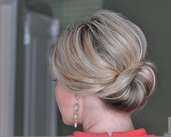 Hair tutorial: Sideways French Twist