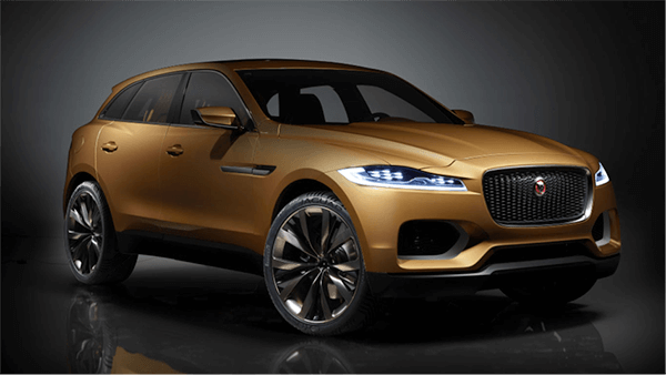 The new Jaguar F-PACE is coming