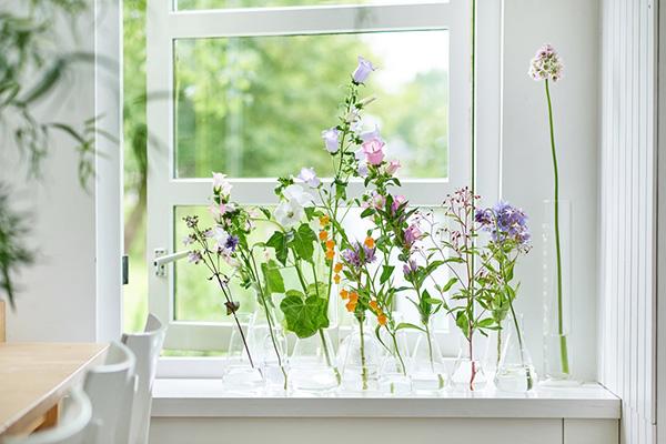 10x creatief met zomerbloemen