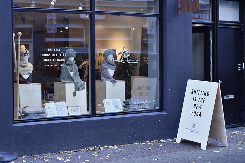 Weekendtip: pop-up store Granny's Finest in hartje Amsterdam