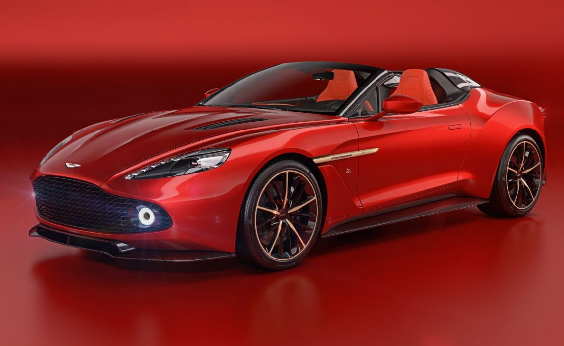 Aston Martin Vanquish Zagato Speedster & Shooting Brake