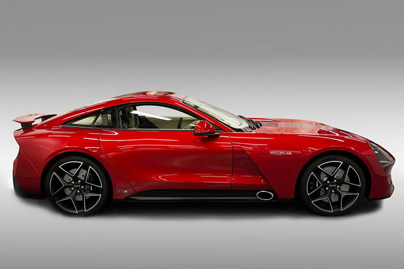 Nieuwe TVR Griffith