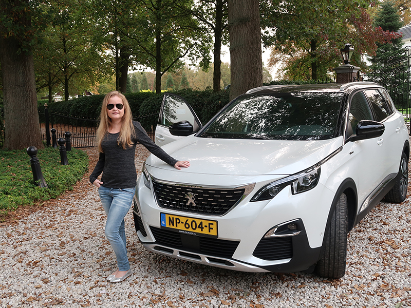 Testing the Peugeot 5008 SUV GT-line