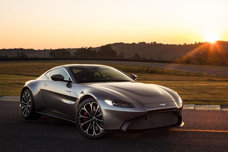 Een nieuwe Aston Martin Vantage!