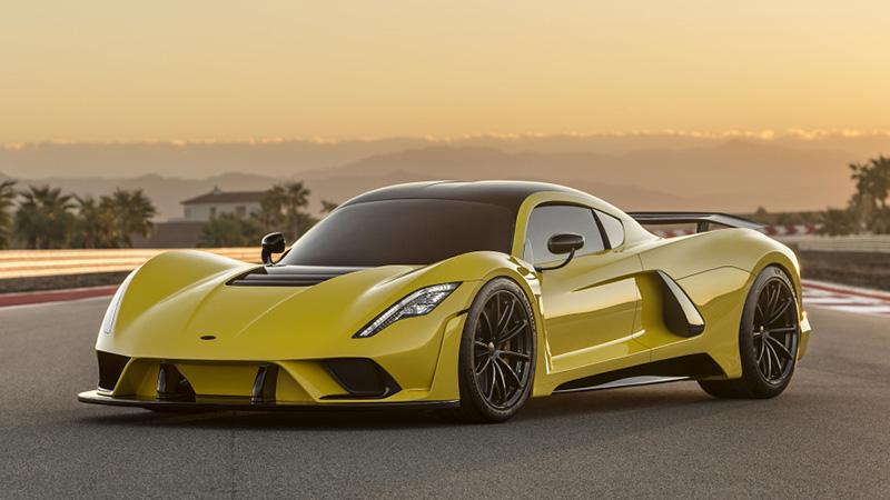 Hennessey Venom F5, de snelste hypercar ter wereld