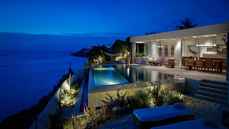 De 5 mooiste luxe vakantievilla's op Mykonos