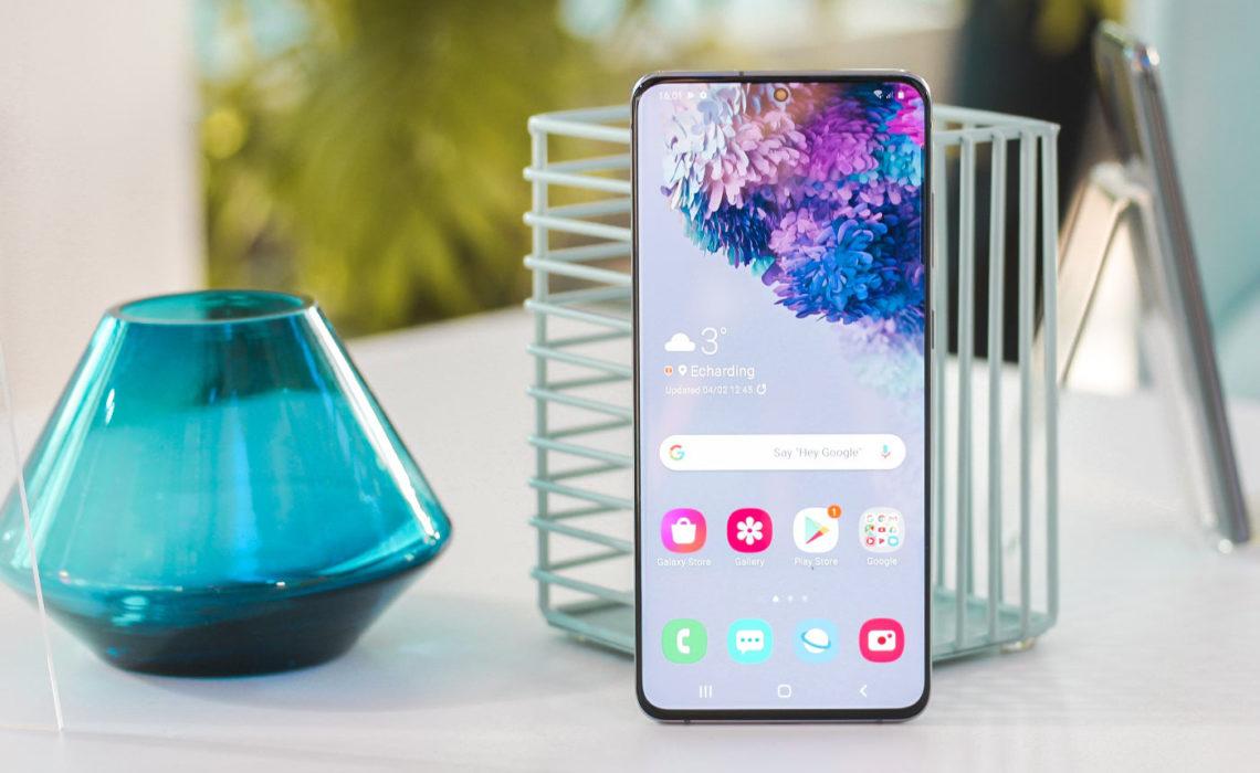 De gloednieuwe Samsung Galaxy S20