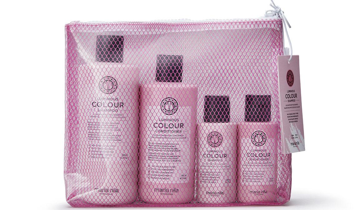 MARIA NILA lanceert Beauty Bags, 100% vegan, 100% recycled