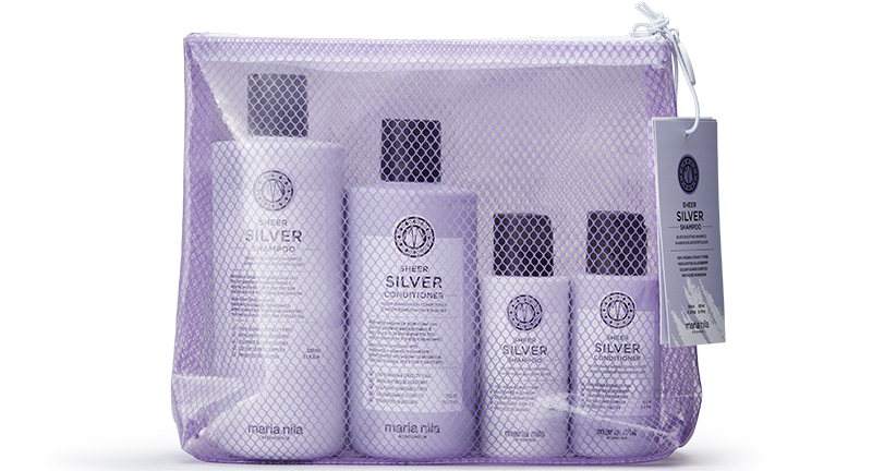MARIA NILA beauty bag silver