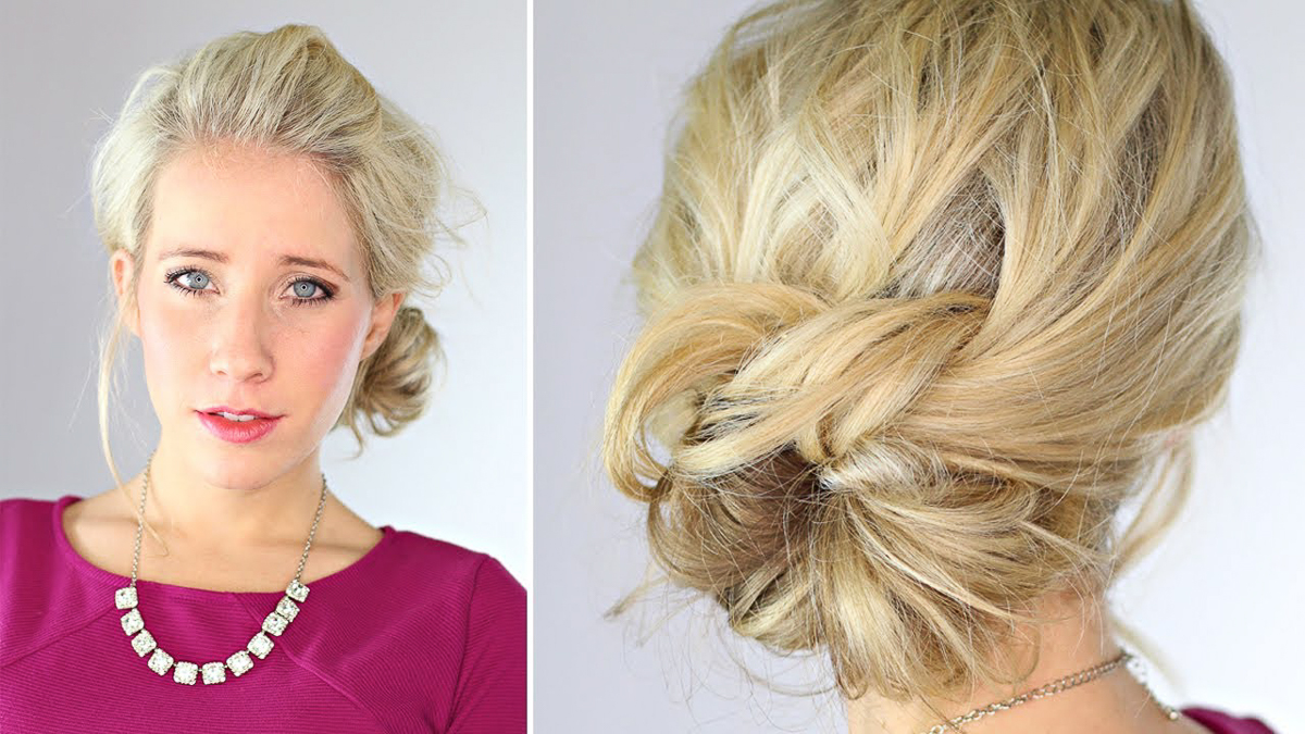 knotted updo -2
