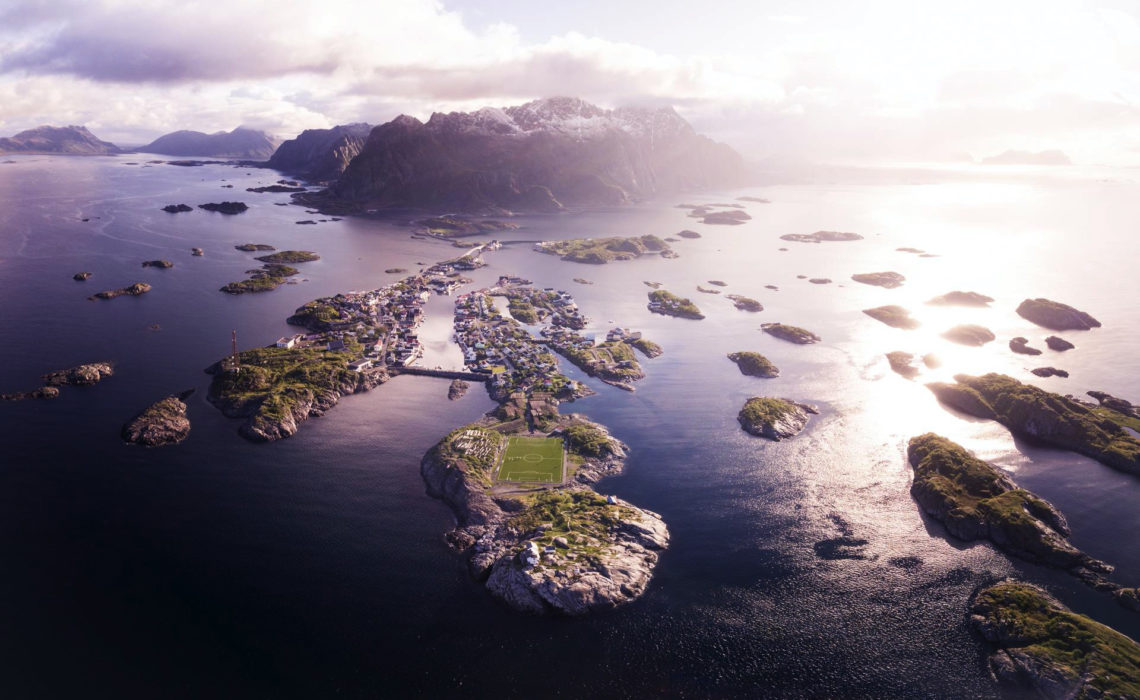 Verliefd op de Lofoten eilanden