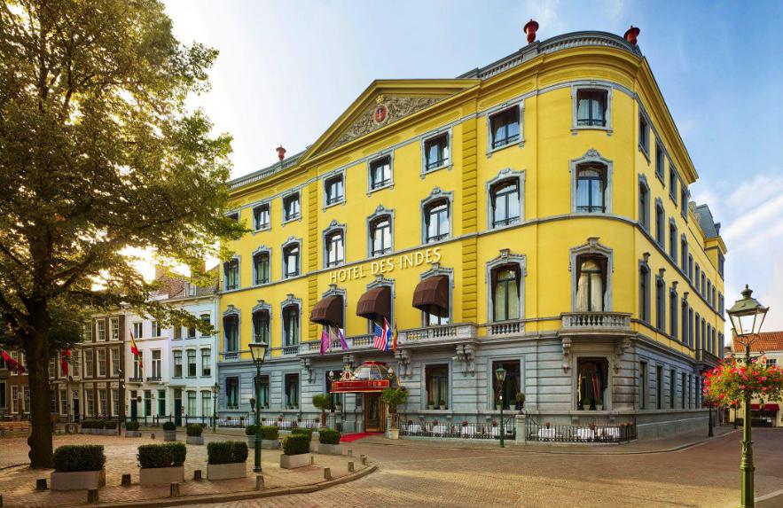 Luxe Hotel Des Indes heropent haar deuren
