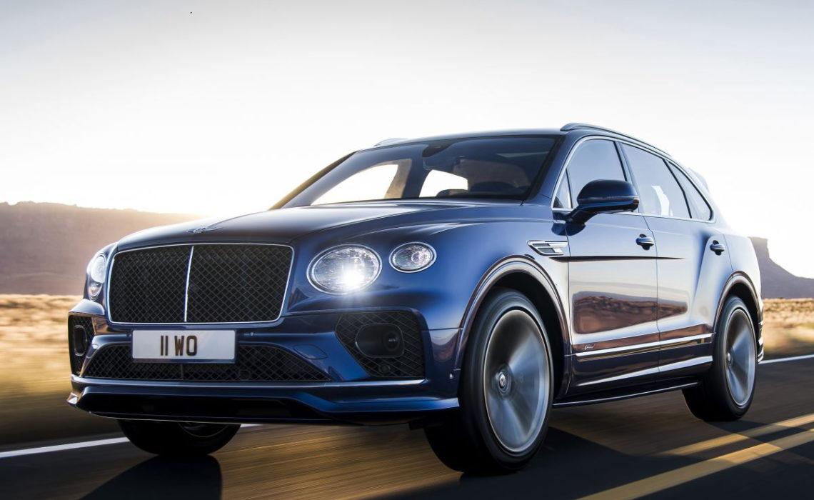 Nieuwe Bentley Bentayga Speed snelste SUV ter wereld