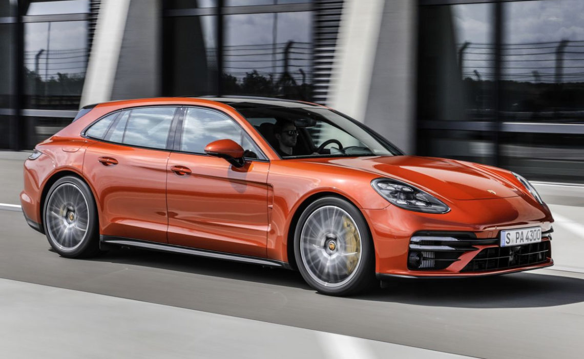 Vernieuwde Porsche Panamera